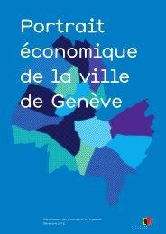 Portrait économique de la ville de Genève