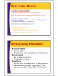 Hibernate Query Language Hibernate Query Language and Native - Page 4
