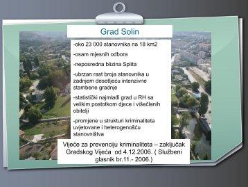 7. Iskustva vijeća za prevenciju - Solin