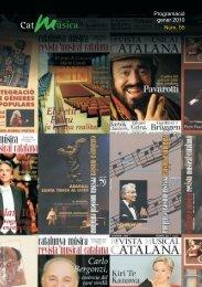 revista gener:REVISTA.qxd.qxd - Catalunya Música