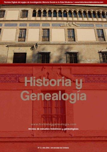 descargar número completo - Historia y Genealogía
