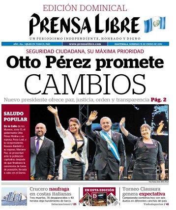 PDF 15012012 - Prensa Libre
