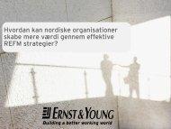 Hvordan kan nordiske organisationer skabe mere værdi gennem ...