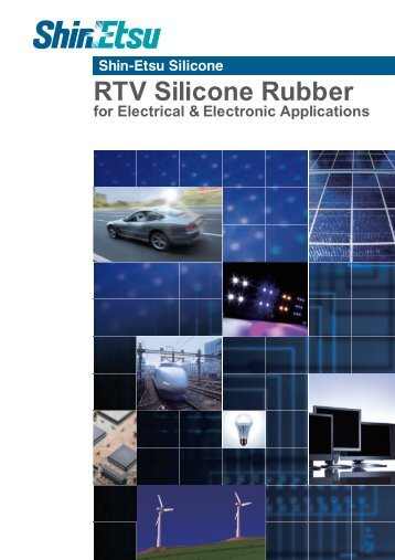 RTV Silicone Rubber for Electrical & Electronic Applications