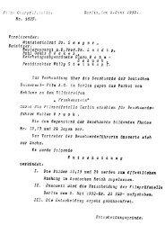 Zensurdokument, Protokoll - Deutsches Filminstitut - DIF