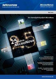 25 Jahre MicroNova - MicroNova AG