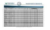 PERSONAL A CONTRATA FEBRERO 2011 - Transparencia Municipal