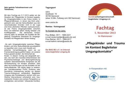 Flyer Fachtag 2013
