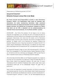 Pressemitteilung Fur Free Retailer Zertifikat. Saubere Geschäfte ...
