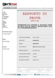 RdP Gelo Murature Laterizio - CertiMaC