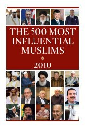 THE 500 MOST INFLUENTIAL MUSLIMS - CESD