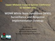 (WNS) Surveillance and Response Implementation Strategy