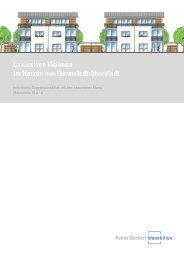 Exklusives Wohnen im Herzen von Darmstadt ... - Reiner Dächert