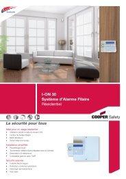 I-ON 30 Système d'Alarme Filaire Résidentiel - Cooper Security