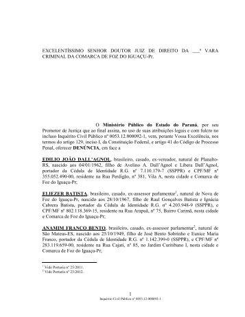 lio João Dall'Agnon - Ministério Público do Paraná