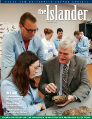 INSIDE - Islander Magazine - Texas A&M University Corpus Christi