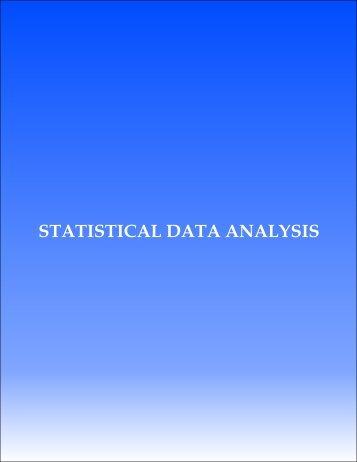 Statistical Data Analysis - Supreme Court of Pakistan
