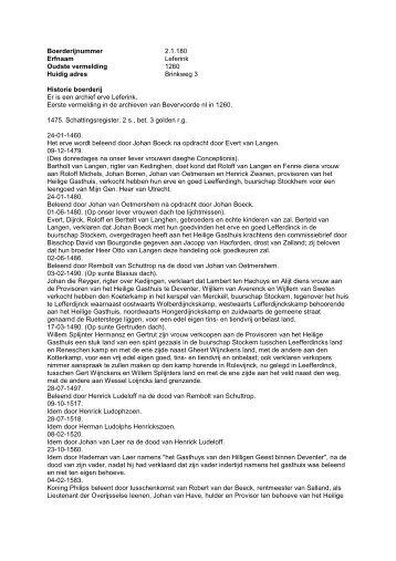 2.1.180 Boerderij Leferink, Brinkweg 3 - De Hofmarken