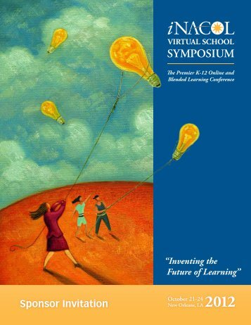 Sponsor Prospectus - Virtual School Symposium 2012 - iNACOL