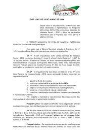 lei nº 2.987, de 29 de junho de 2009. - Prefeitura Municipal de Feira ...