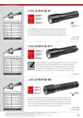 Led Lenser Sortiment - Fischer Art of Light and Sound GmbH - Page 5