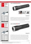 Led Lenser Sortiment - Fischer Art of Light and Sound GmbH - Page 7