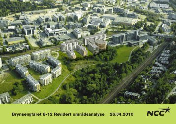 Brynsengfaret 8-12 Revidert områdeanalyse 26.04.2010 - Plan