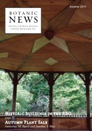 Autumn 2011 (PDF - 1.02 mb) - Royal Botanic Gardens Melbourne