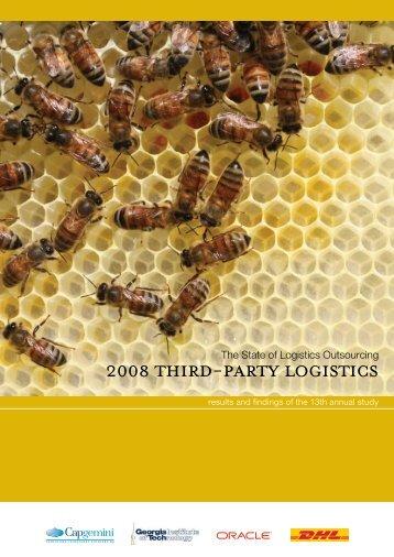 2008 Third-Party Logistics - Capgemini