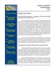 E-6 Child Care Licensure -- Changes in Child Care Facility ...