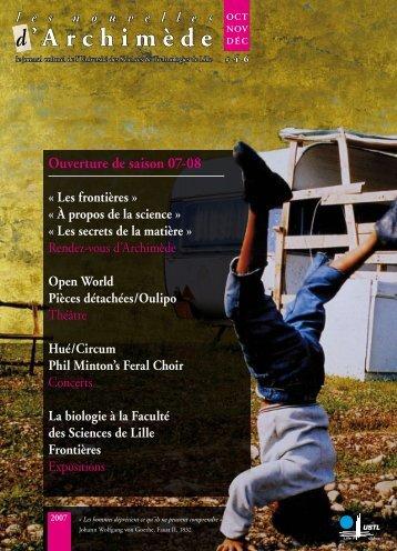 Archimède - Espace culture de l'université de Lille 1