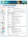 Full Conference Brochure including all registration forms - Page 6