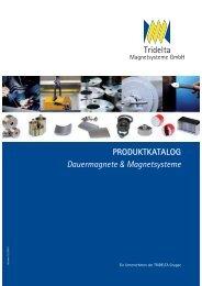 Produktkatalog Magnetsysteme 2011 - Tridelta Dortmund GmbH