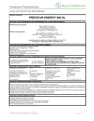 previcur energy 840 sl - Bayer CropScience Mexico