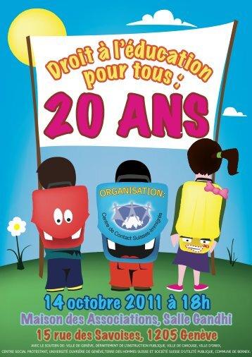 Flyer-CCSI-14-10-2011 - Caritas Genève