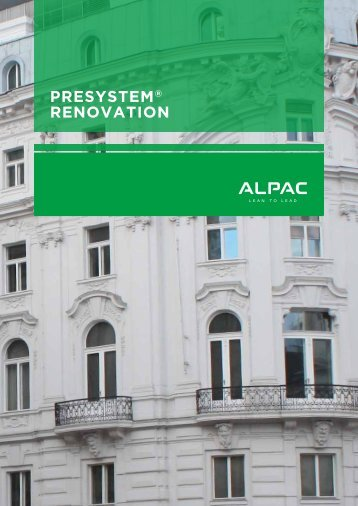 PRESYSTEM® RENOVATION - Sejem Dom