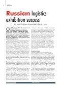 ifwla - Warehousing and Logistics International - Page 6