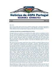 SEGURANCA AERONAUTICA - AOPA Portugal