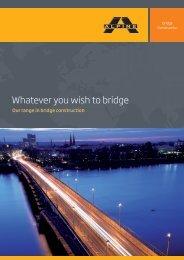 Whatever you wish to bridge
