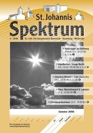4 (Heft Jul. - Sep. 2006) - St. Johannis Bemerode