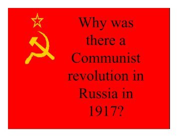 Why Rus Rev [Read-Only]