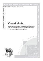 eng Visual Arts.pdf - Curriculum Development