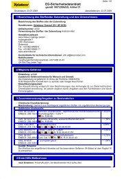 EG-Sicherheitsdatenblatt - Xyladecor
