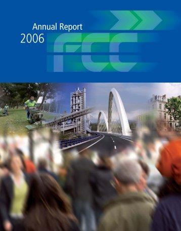Annual Report 2006 - FCC