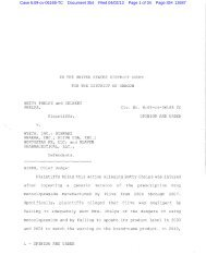 Case 6:09-cv-06168-TC Document 354 Filed 04/02/13 ... - Reed Smith