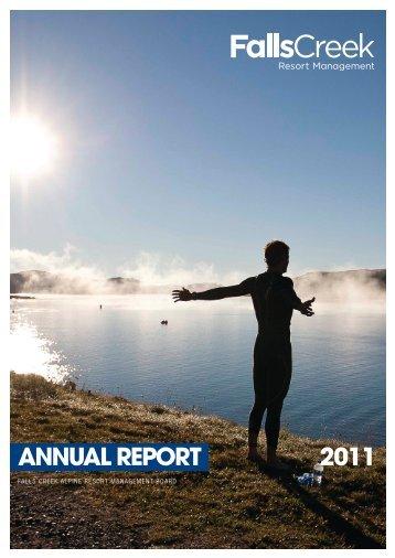 2011 AnnuAl RepoRt - Falls Creek