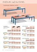 Sitzbänke und Garderobenbänke Comfort - Page 3