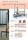 Sitzbänke und Garderobenbänke Comfort - Page 7