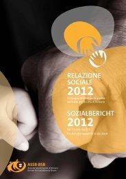Sozialbericht 2012 - Betrieb für Sozialdienste Bozen
