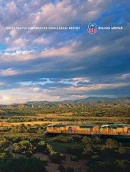 2004 Annual Report - Union Pacific